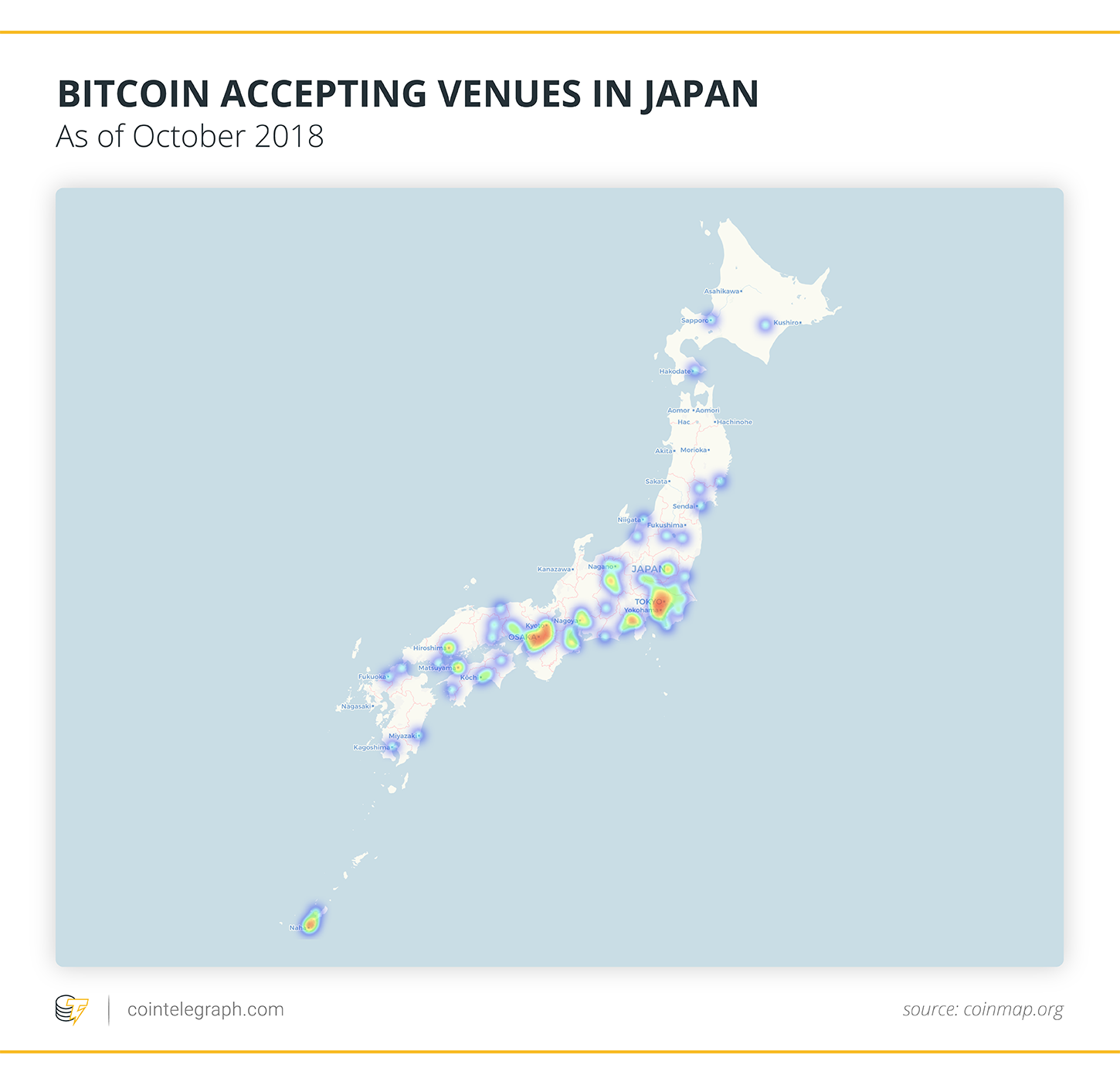 BITCOIN ACCEPTING VENUES IN JAPAN