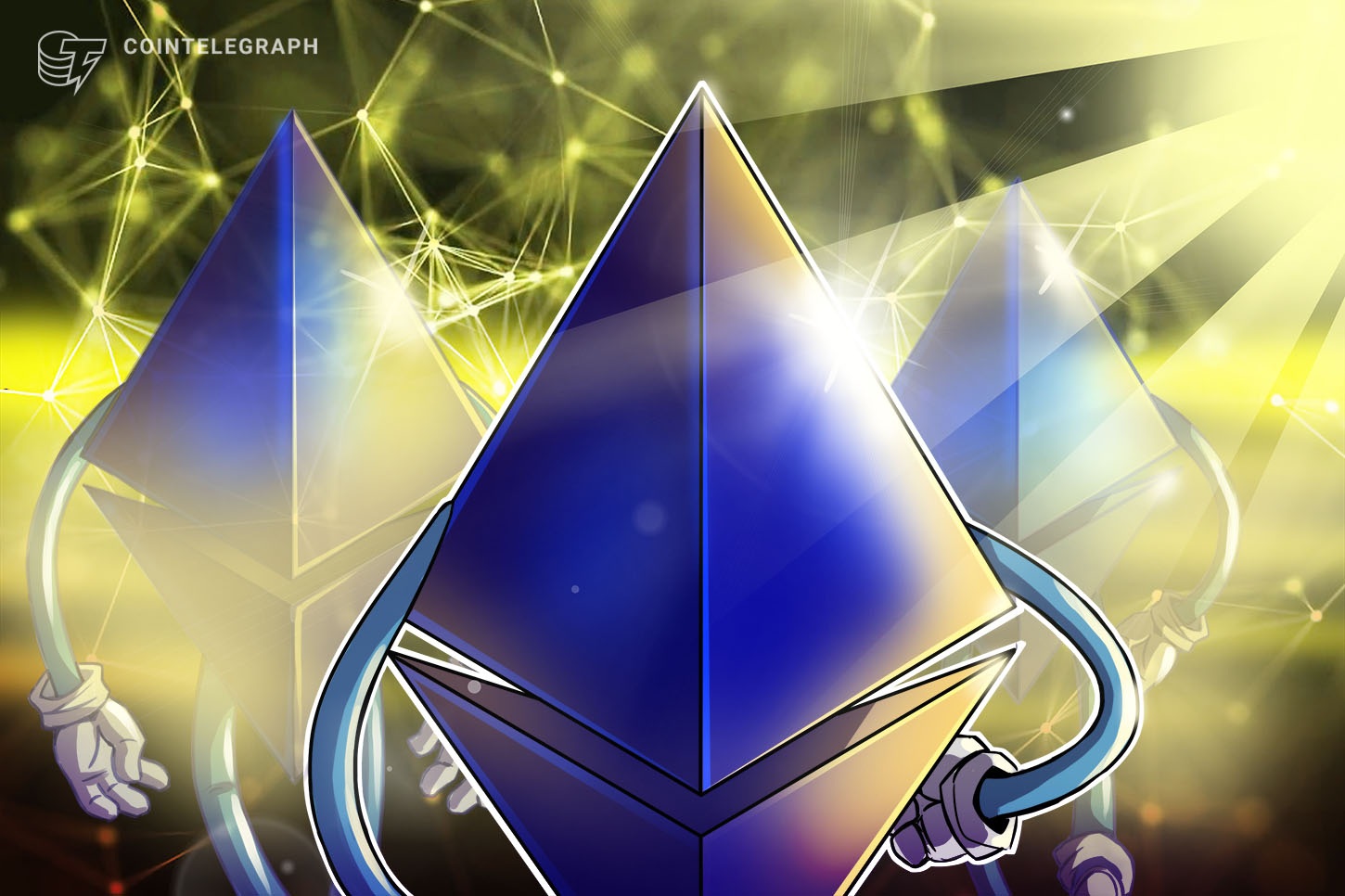 Ethereum Smart Contracts up 75% to Almost 2M in March