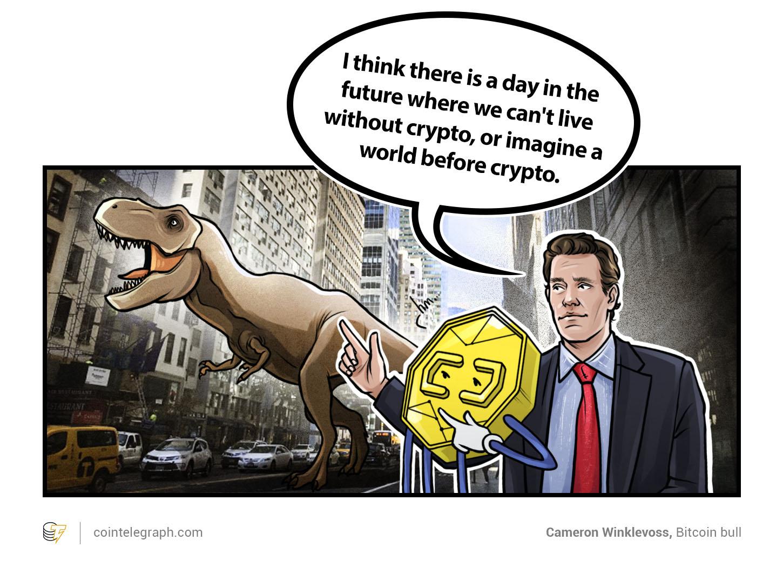 Cameron Winklevoss, Bitcoin bull
