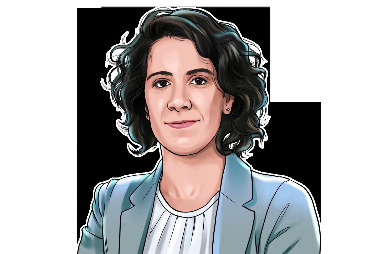 Rosine Kadamani & Co-Fundadora da Blockchain Academy  & poster`