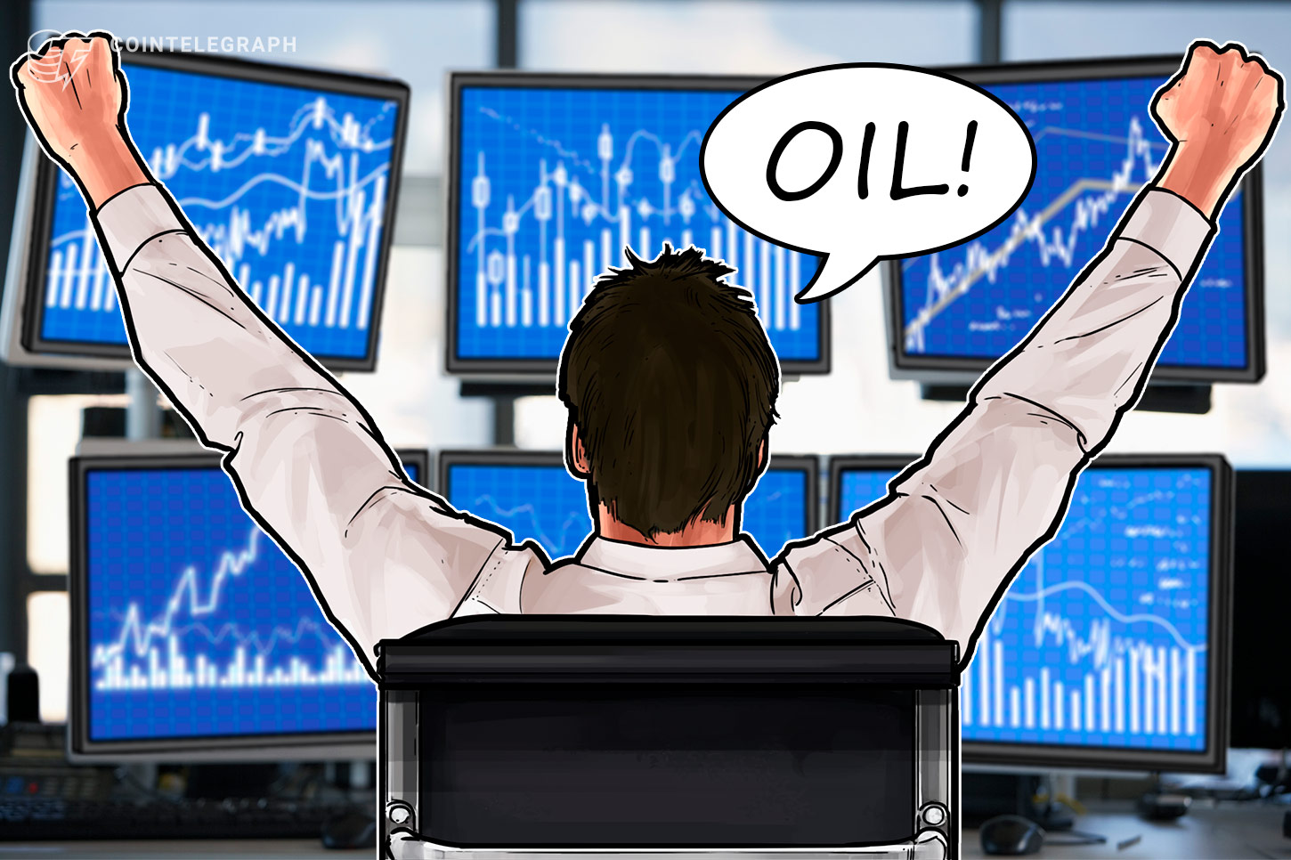 Traders Buy Oil Futures With Crypto Amid Record Volatility thumbnail