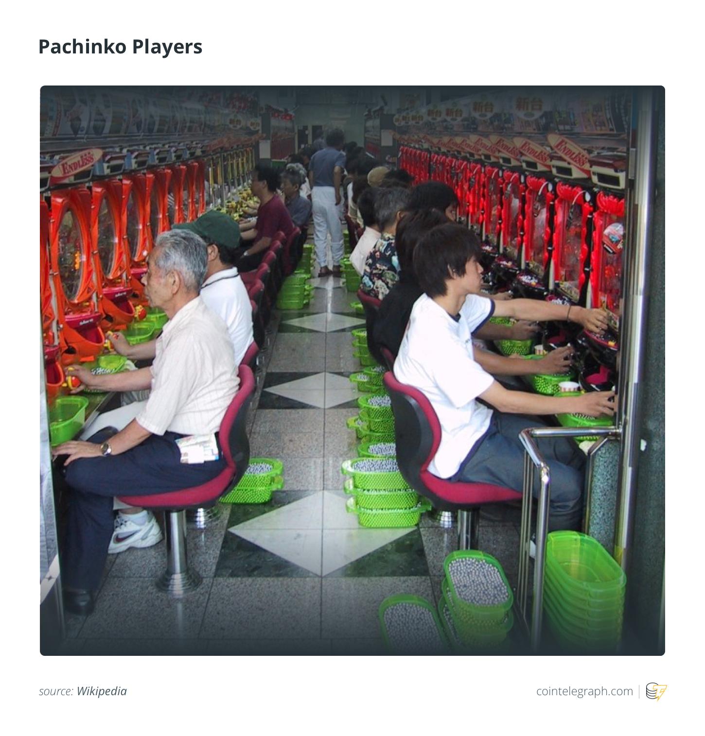 Pachinko Players