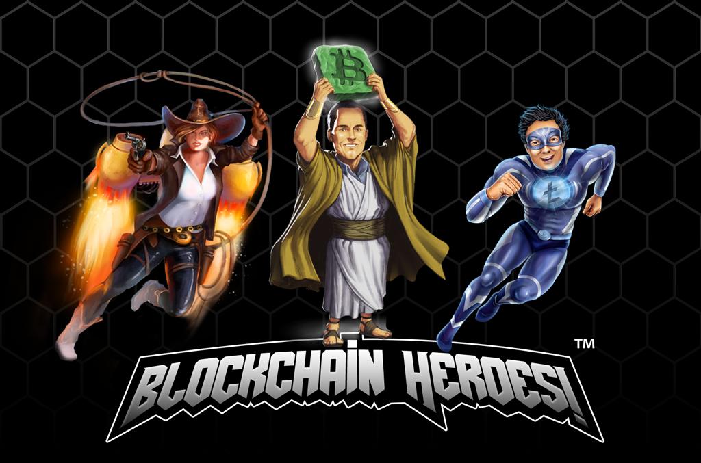 Wyldwrangler, The Prophet and Litespeed from Blockchain Heroes