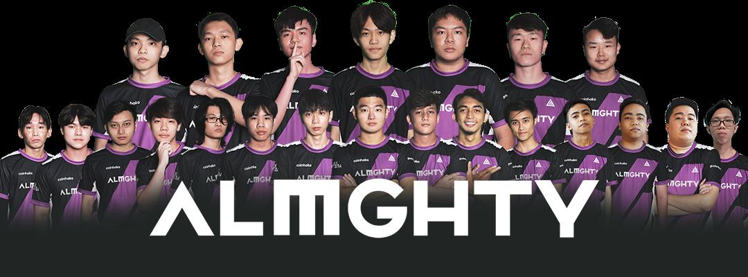 ALMGHTY Team Photo