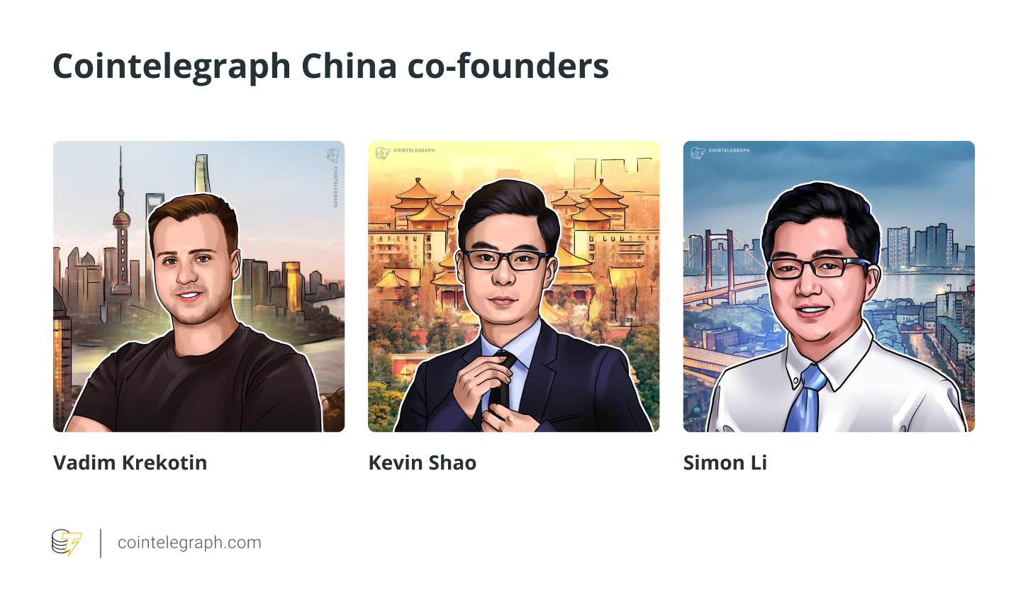 Cointelegraph China co-founders