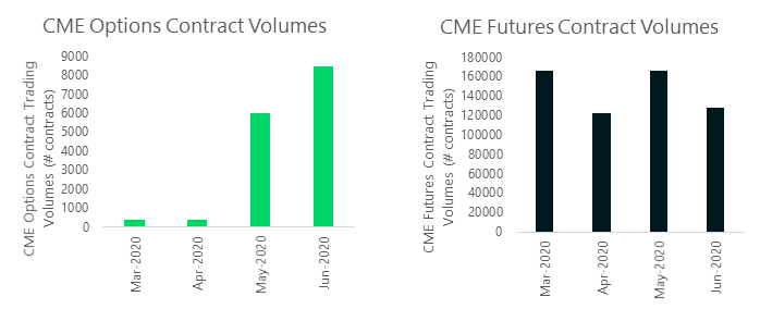CME Options and Futures Contract Volumes