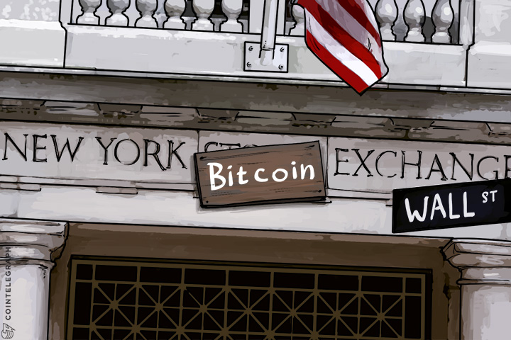 bitcoin goes to wall street