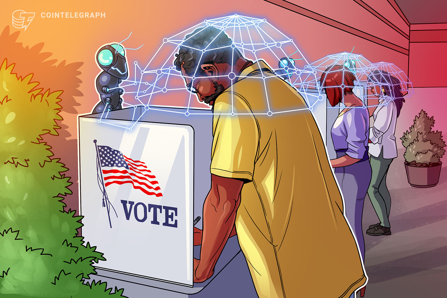 Blockchain <bold>voting</bold> is the alternative for trusted democratic elections