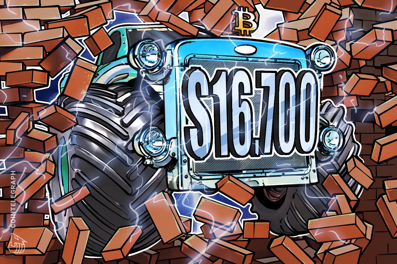 el-precio-de-bitcoin-alcanza-un-nuevo-pico-en-16700-dlares-los-traders-tienen-mayores-expectativas