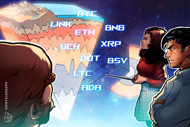 Price analysis 11/11: BTC, ETH, XRP, LINK, BCH, BNB, DOT, LTC, ADA, BSV
