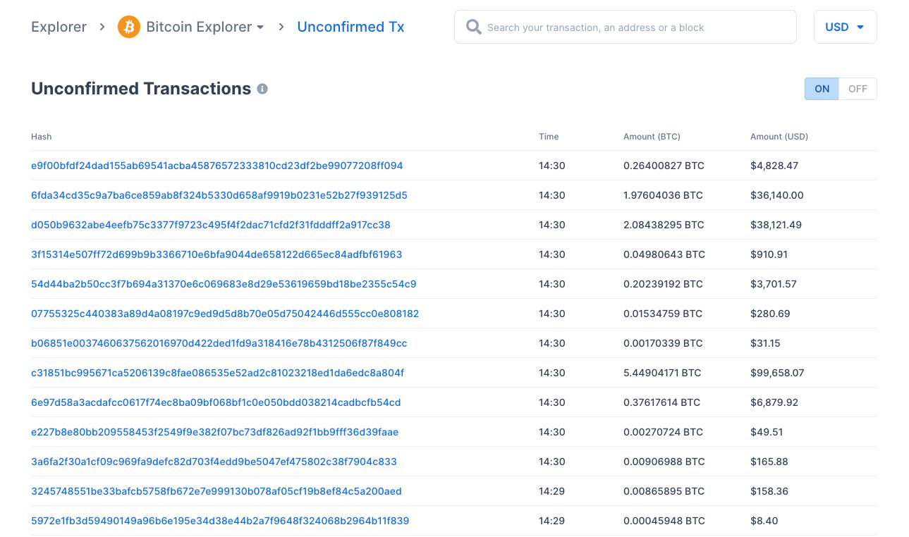 How do you use a block explorer?