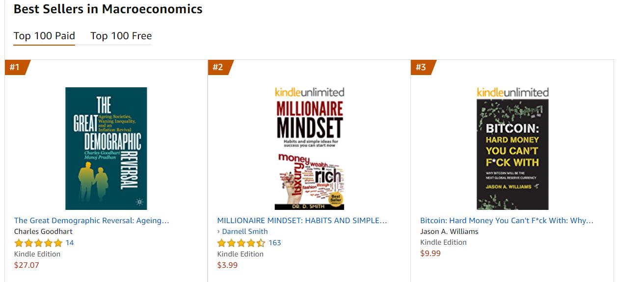 Best seller di Amazon nella categoria Macroeconomia