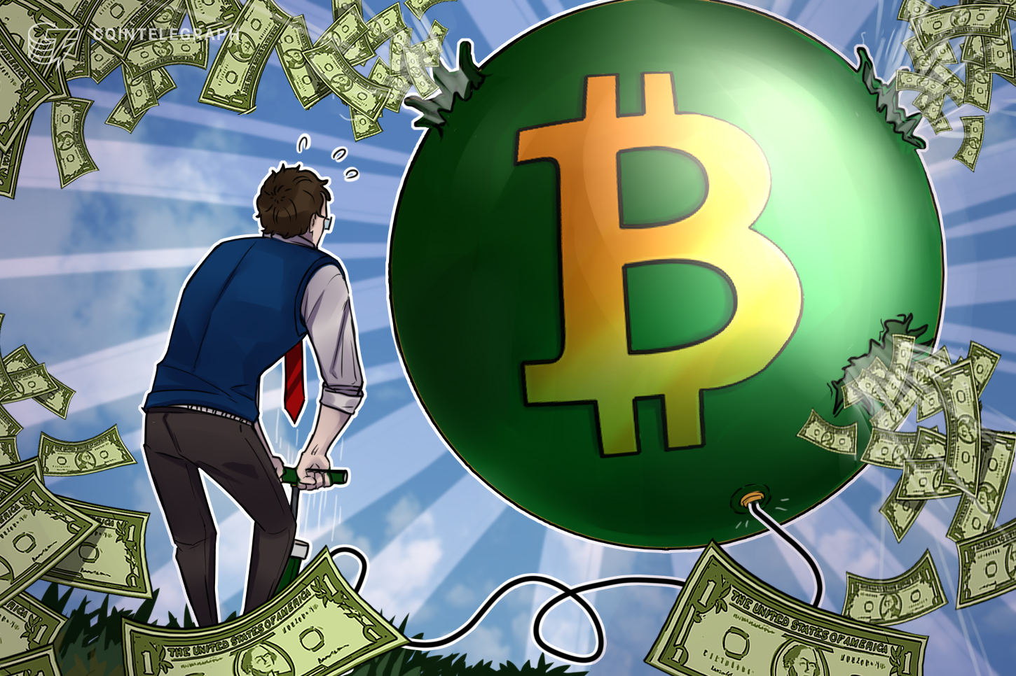 <bold>Bitcoin</bold> bubble will pop sooner or later, says famous Russian BTC critic