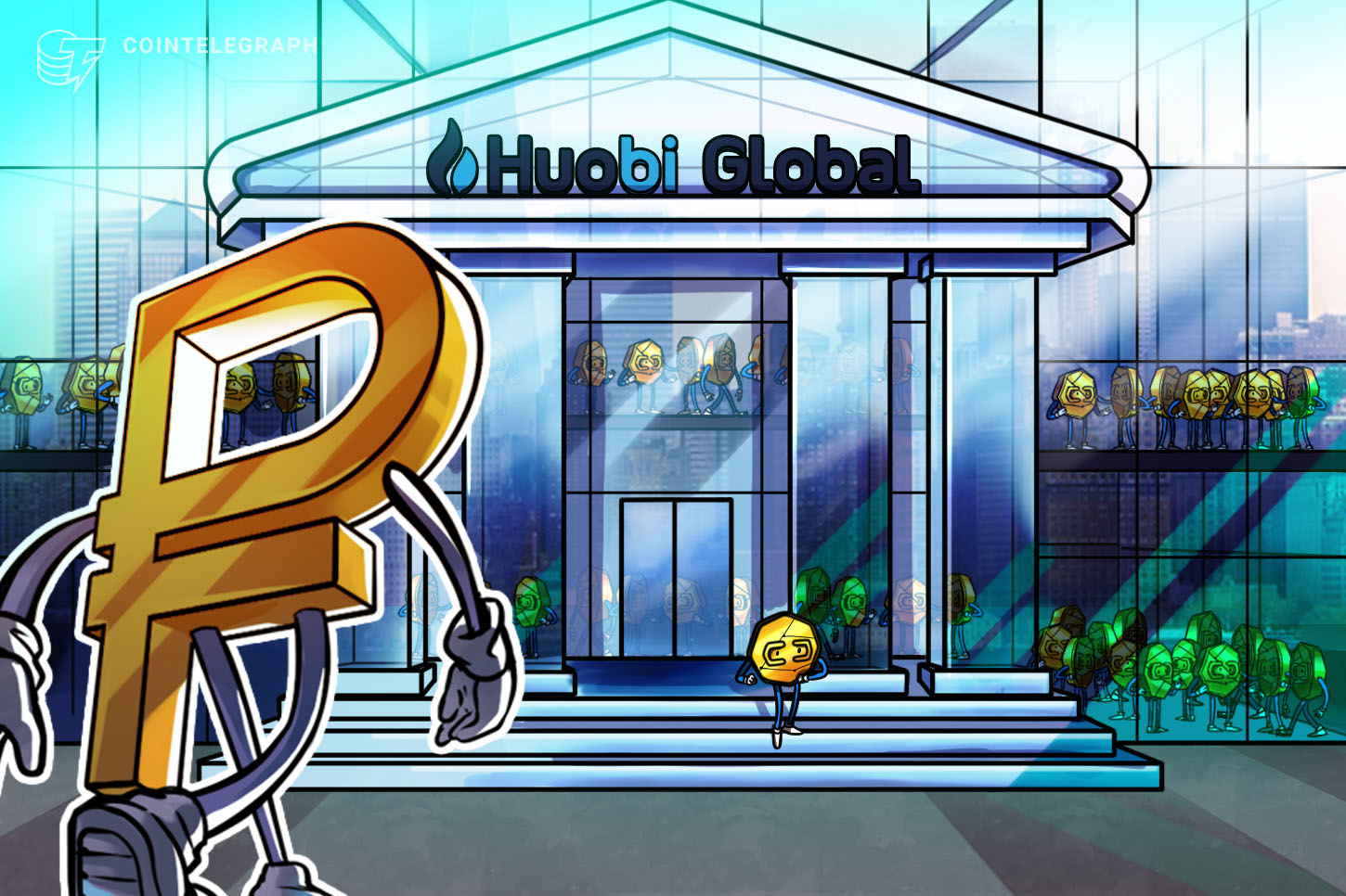 Huobi Global now supports ruble deposits and withdrawals