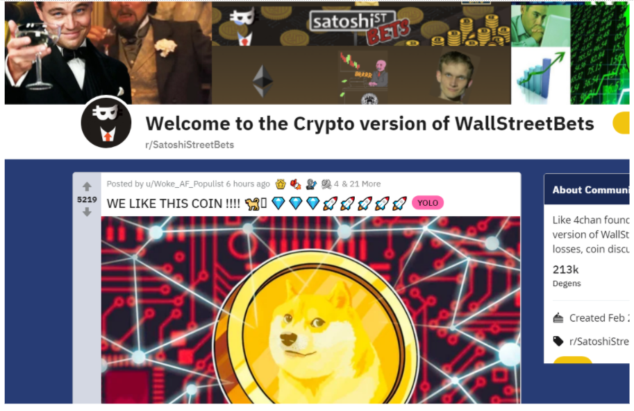85% Dogecoin rally shows Wall Street Bets aren't done with DOGE yet