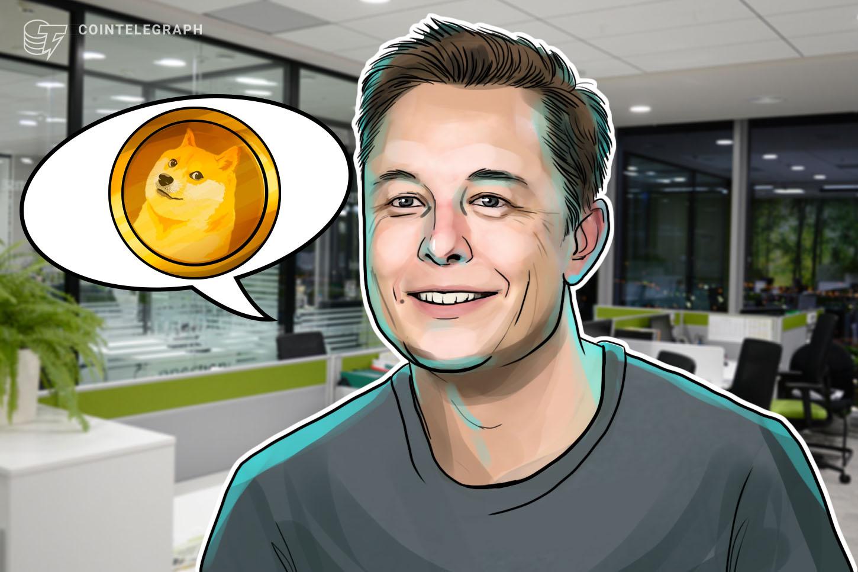 Elon Musk reminds followers he really isn't Dogecoin's master