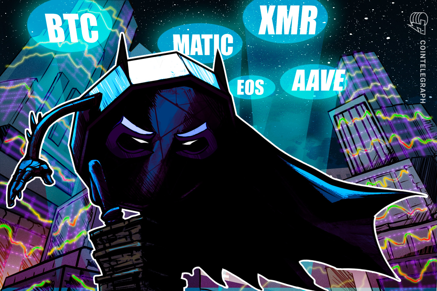 Top 5 cryptocurrencies to watch this week: BTC, MATIC, EOS, XMR, AAVE