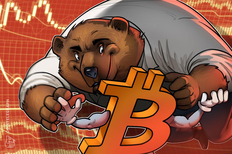 Bears batter Bitcoin market sentiment as Bitfinex margin shorts surge 378%