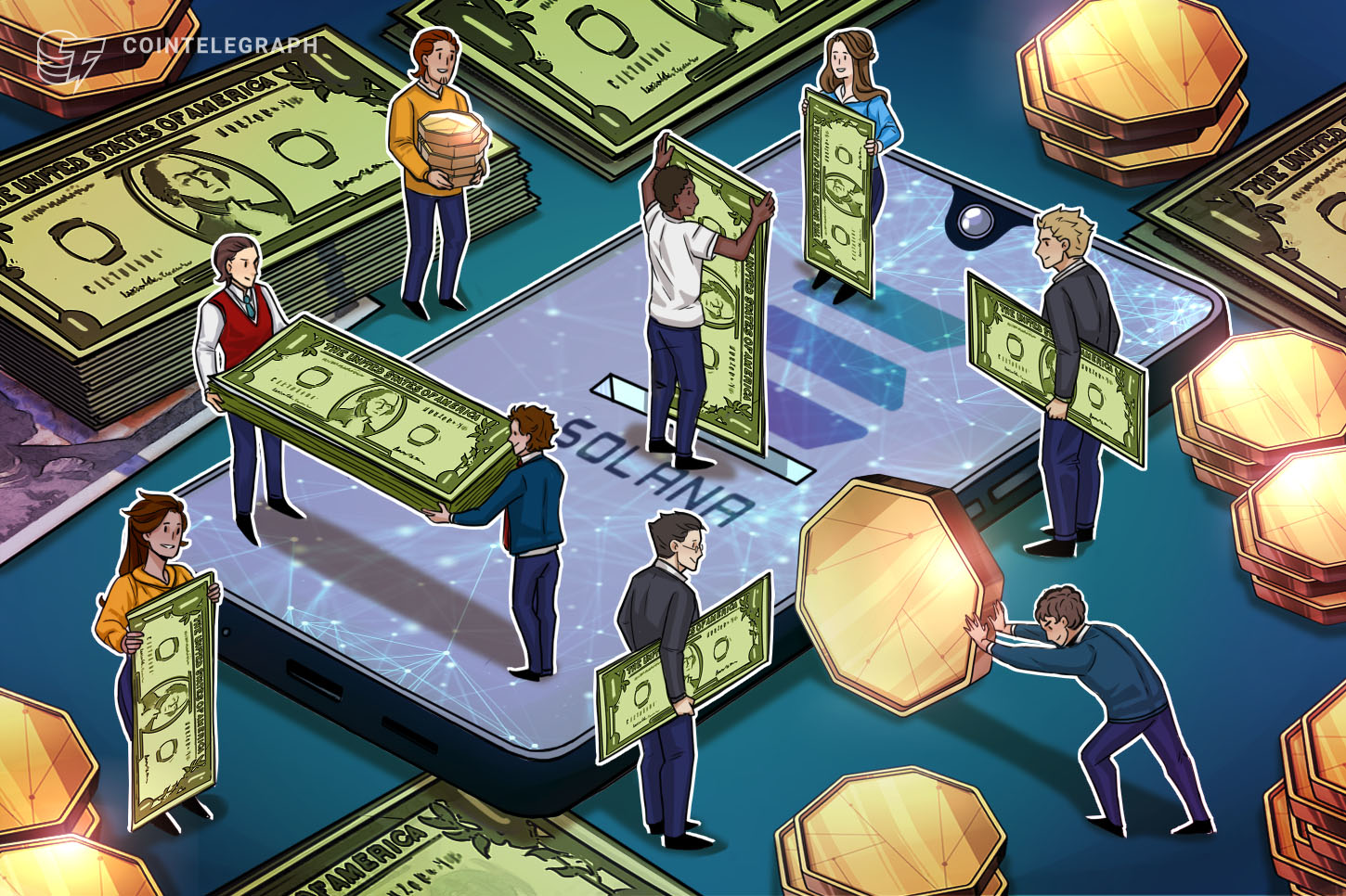 Solana Labs raises $314M via private token sale as ecosystem support expands