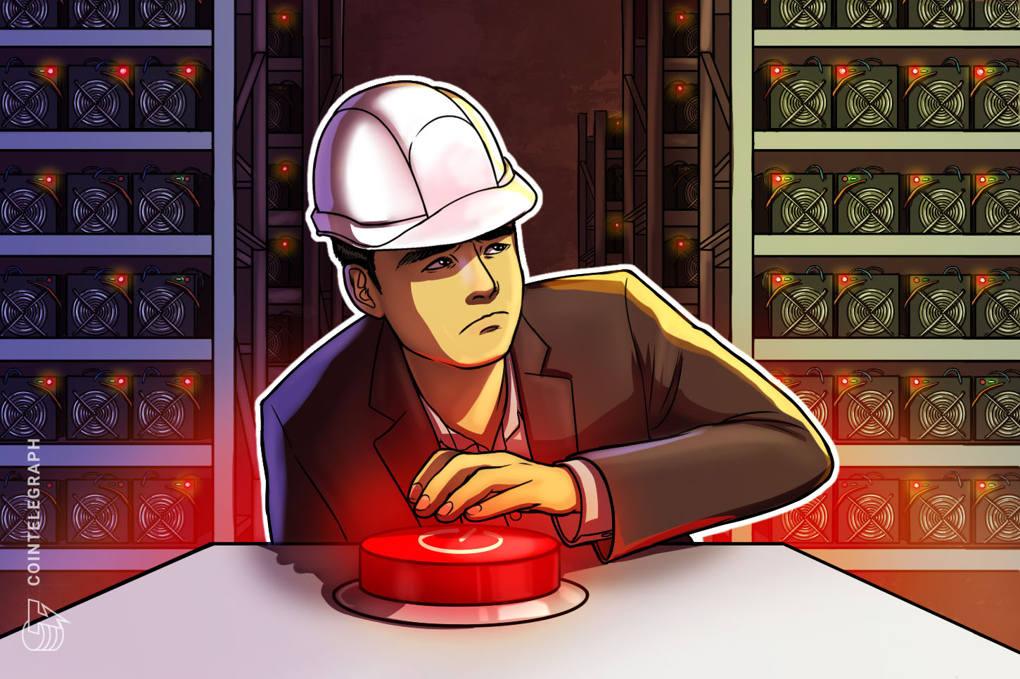 China shuts down crypto mining in Anhui province