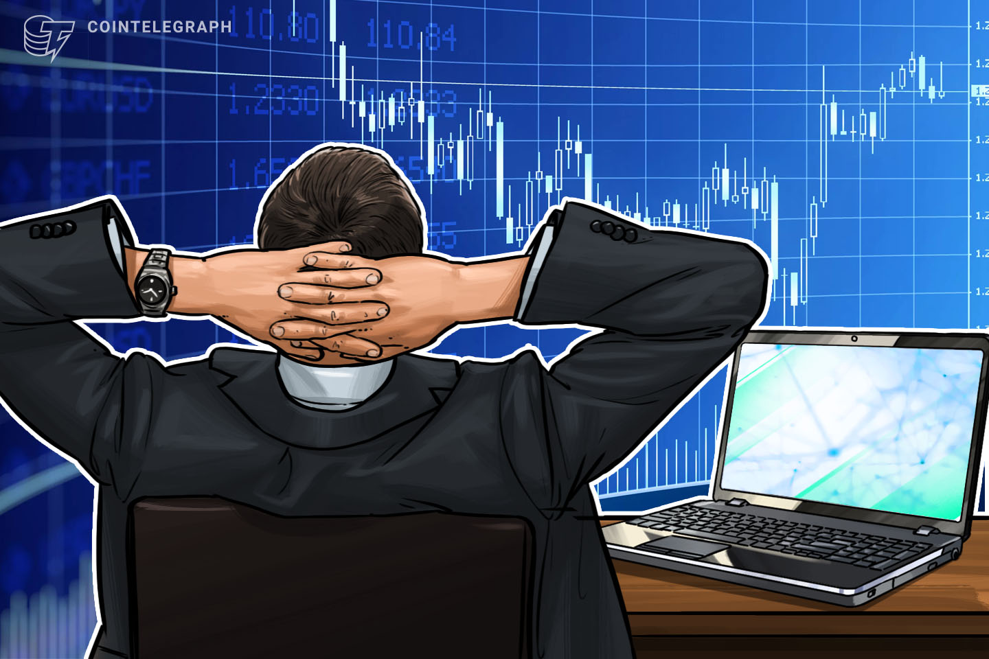 Double-digit crypto gains and trading volume - what's the connection?