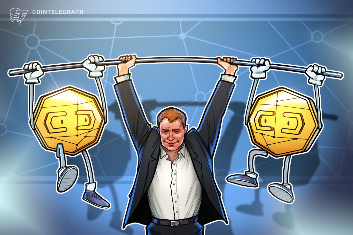 Axie Infinity (AXS) and Waves make gains as Bitcoin flatlines below $34K