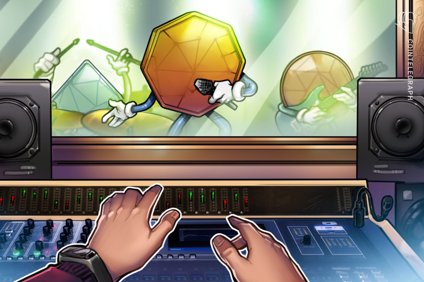 Cryptocurrency's latest use case: Music production?