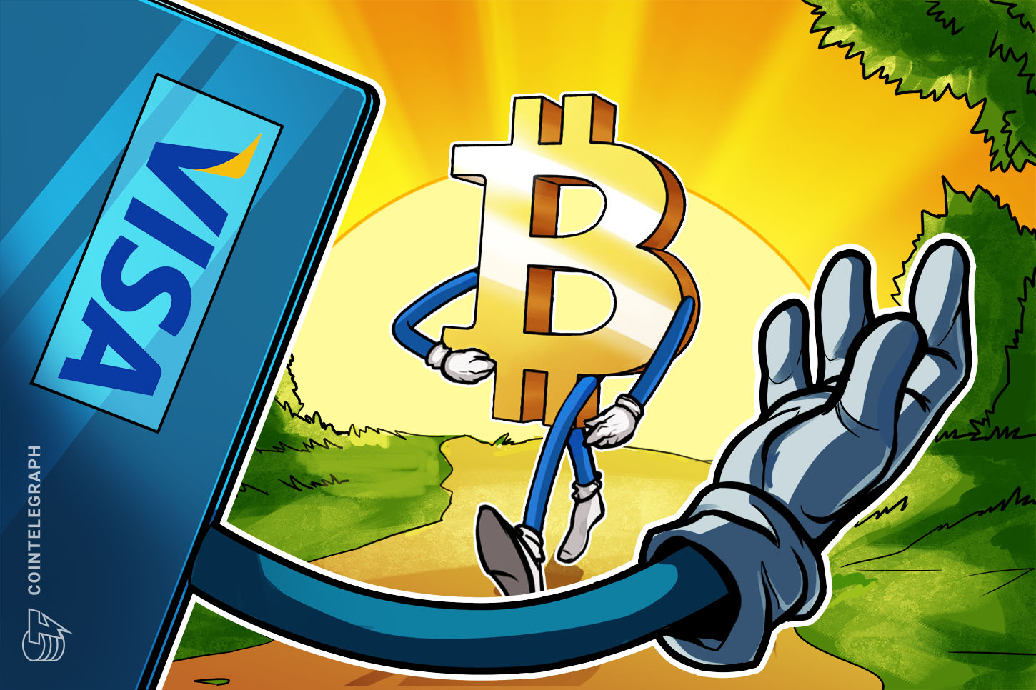 Visa to approve Bitcoin spending card for Australian startup CryptoSpend