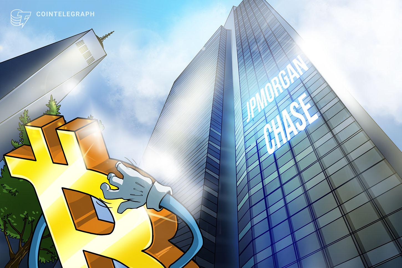 JPMorgan Chase reportedly shuts down bank accounts of Bitcoin mining firm