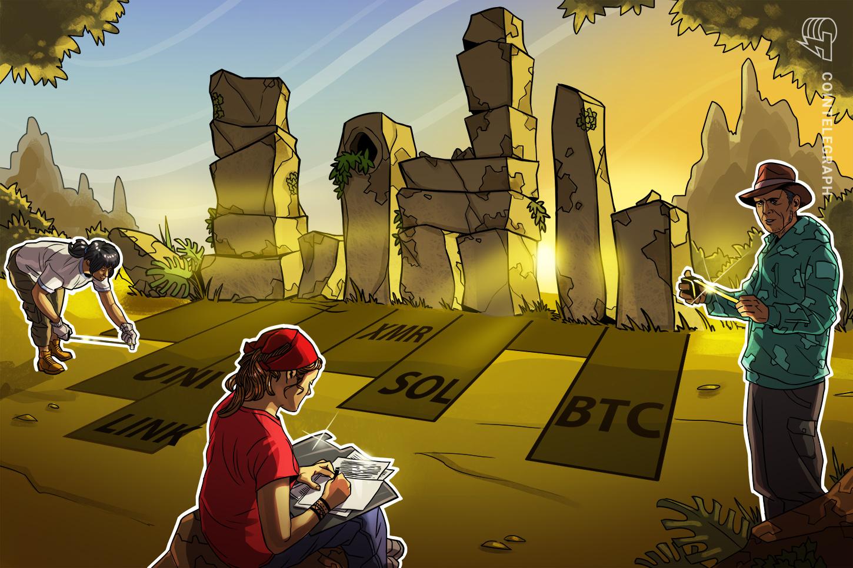 Top 5 cryptocurrencies to watch this week: BTC, UNI, LINK, SOL, XMR
