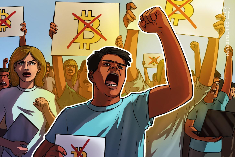 Retirees in El Salvador protest against Bitcoin adoption