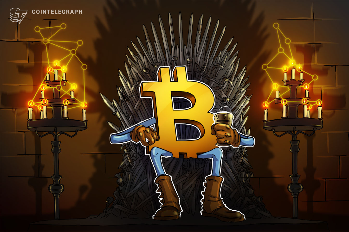 Bitcoin 'will remind everyone who the king is' says trader as BTC dips to $44K