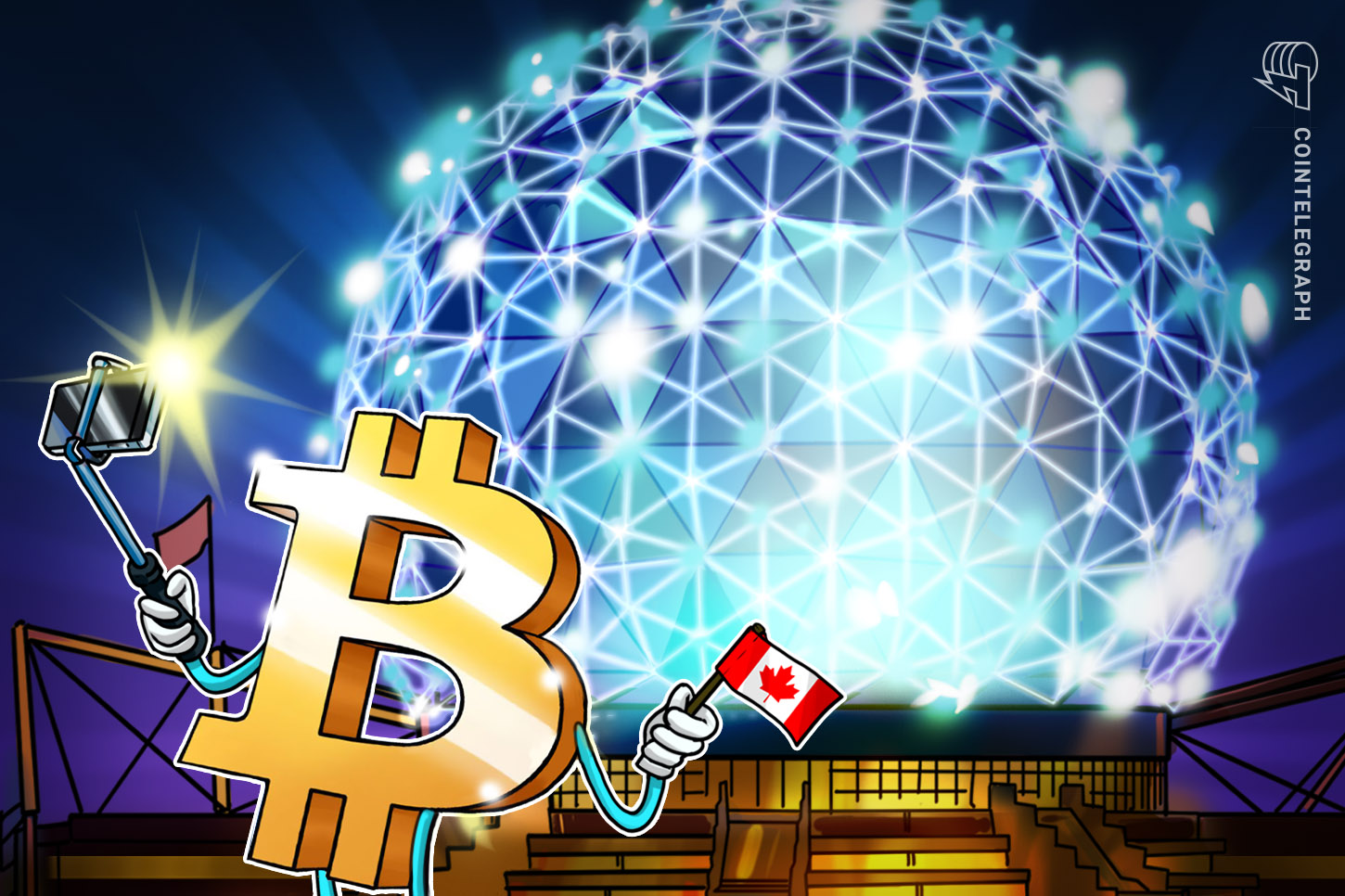 Canadian investment firm plans to plant trees matching buys in Bitcoin ETF