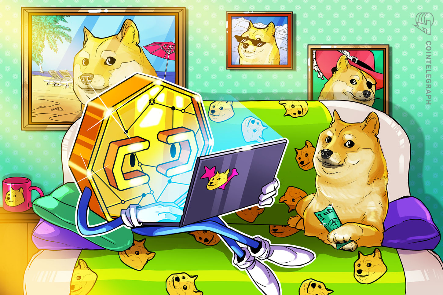 Doge meme hits $220M valuation, as Sotheby's Bored Apes auction is tipped to fetch $18M