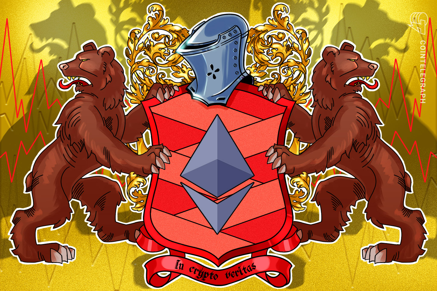 Ethereum 'head & shoulders' chart pattern puts ETH price at risk of dropping to $2K