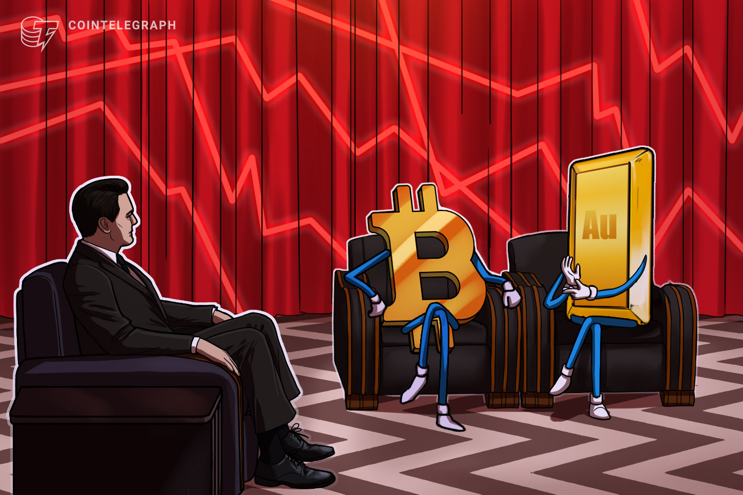 Bitcoin's sharp fall from $50K linked to stronger US dollar, gold correlation shows