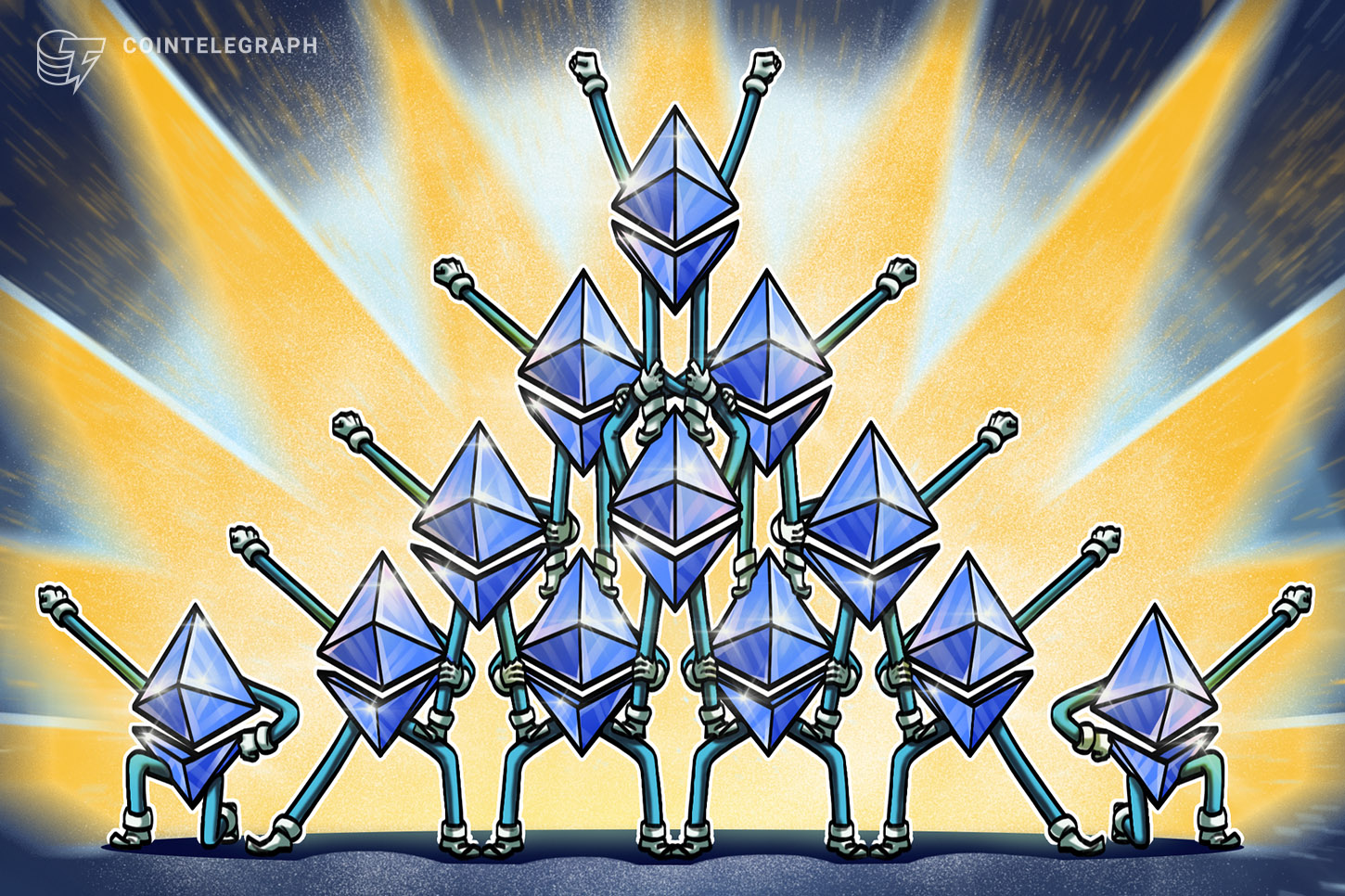 Ethereum fractal from 2017 that resulted in 7,000% gains for ETH appears again in 2021