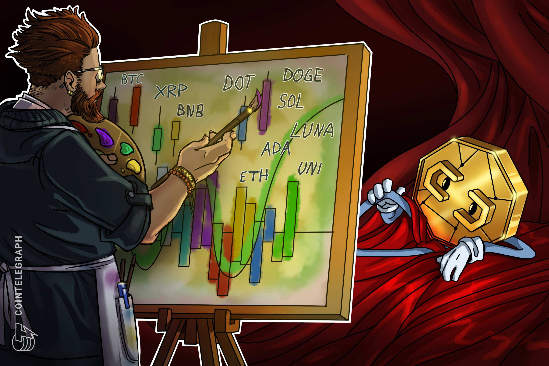Price analysis 10/1: BTC, ETH, ADA, BNB, XRP, SOL, DOT, DOGE, LUNA, UNI